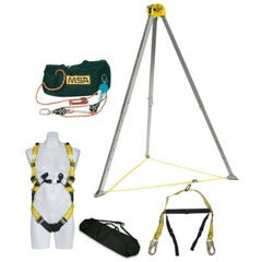 MSA Confined SpaceKit, Rope Rescue System, 3:1, 45m