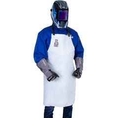 Blue Max A1 Leather Bib Style Apron