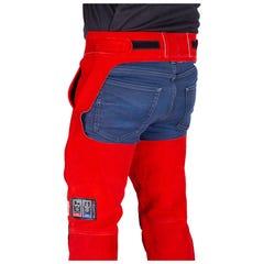 Elliotts The BIG RED Welders Seatless Trousers