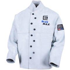 Blue Max Chrome Leather Welder's Jacket