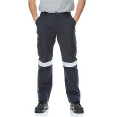 Workit FR PPE2 FLAREX RIPSTOP Inherent 215gsm Taped Cargo Pants - Navy