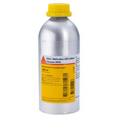 Sika Aktivator 205 Transparent, Solvent-based Adhesion Promoter For Non-porous Substrates