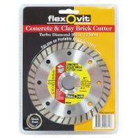 Flexovit Concrete and Clay Brick Cutter 125 x 22mm