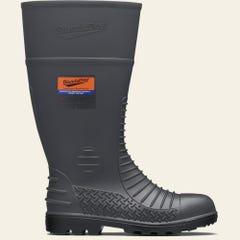 Blundstone 024 Unisex Safety Gumboots - Grey