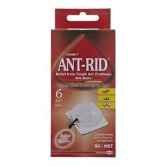 Combat Ant-Rid Bait 1.5g (Qty x 6)
