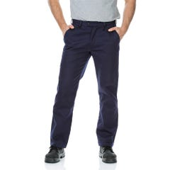 Workit Cotton Drill Regular Weight Work Pants - Navy