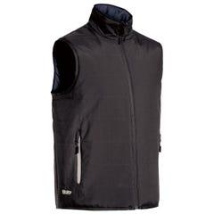 Bisley Reversible Puffer Vest - Charcoal