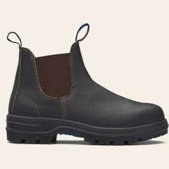 Blundstone 140 Unisex Elastic Safety Boots - Brown