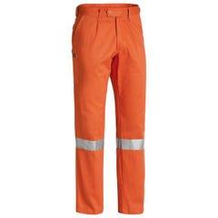 Bisley Mens 3M Taped Original Work Pant - Orange