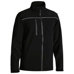 Bisley Mens Soft Shell Jacket - Black