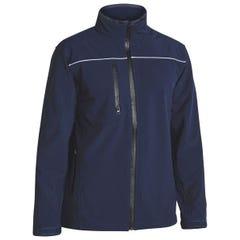Bisley Mens Soft Shell Jacket - Navy