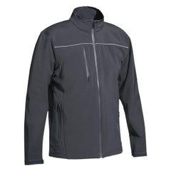 Bisley Mens Soft Shell Jacket - Charcoal