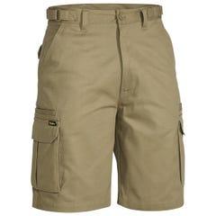 Bisley Original 8 Pocket Mens Cargo Short - Khaki