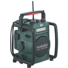 Metabo RC 14.4-18 18V Cordless JobSite Radio-Charger Skin Only