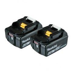 Makita 18V 6.0Ah Battery Twin Pack