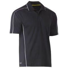 Bisley Cool Mesh Polo Shirt - Charcoal