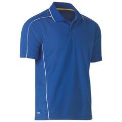 Bisley Cool Mesh Polo Shirt - Royal