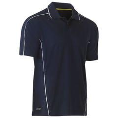 Bisley Cool Mesh Polo Shirt - Navy