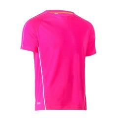 Bisley Cool Mesh Tee - Pink