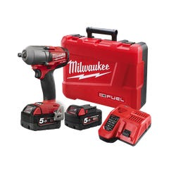 """Milwaukee M18 FUEL 1/2"""" Mid-Torque Impact Wrench with Friction Ring Kit"""