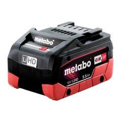Metabo 5.5 LiHD 18V 5.5Ah LiHD Battery Pack