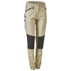 Bisley Womens Flex & Move Stretch Cotton Shield Pants - Stone