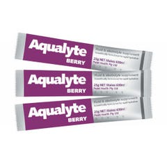 Aqualyte Solution Fluid & Electrolyte Supplement  - Berry 25g (Qty x 250)