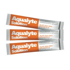 Aqualyte Solution Fluid & Electrolyte Supplement  - Orange 25g (Qty x 250)
