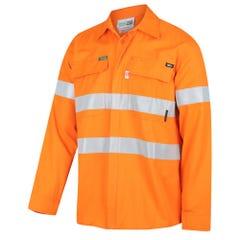 Workit Flarex Ripstop PPR2 FR Inherent 215gsm Taped Shirt - Orange