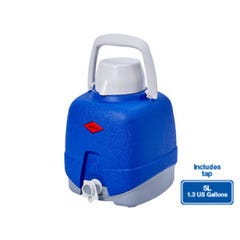 The Decor Cooler Jug with Tap Blue 5L Willow Ware