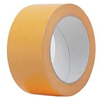 Heatleys Double Sided Cloth Tape (334) White 24mm x 23m
