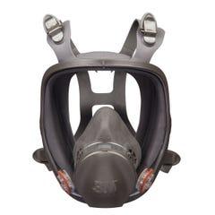 3M Full Facepiece Reusable Respirator 6900, Respiratory Protection, Large, 4/Case