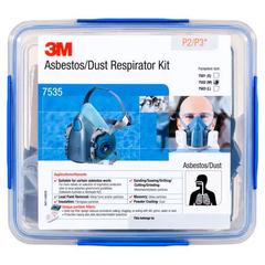 3M Asbestos/Dust  Respirator Kit 7535, P2/P3 (Large)