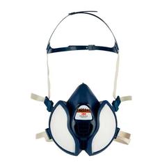 3M Maintenance Free Half Face Respirator 4251, (A1P2)