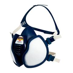 3M Maintenance Free Half Face Respirator 4277+, A1B1E1P2, 1/Bag