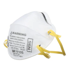 3M Cupped Particulate Respirator 8110S, P2 - small size, 20/Box