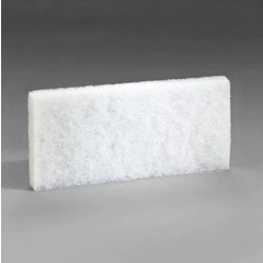 3M Doodlebug White Cleaning Pad 8440, 11.7cm x 25.4cm