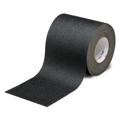 3M Safety-Walk Slip-Resistant General Purpose Tapes and Treads 610, Black, 150mmx18.2m