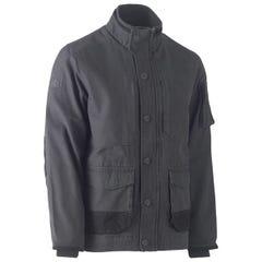 Bisley Flex & Move Canvas Jacket - Charcoal