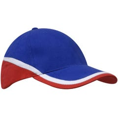 Headwear Stockists Brushed Heavy Cotton Tri-Coloured Cap