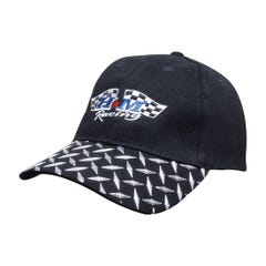 Headwear Stockists Brushed Heavy Cotton with Checker Plate on Peak