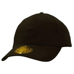 Headwear Stockists Brushed Heavy Cotton and Spandex with Dream Fit Styling - Black