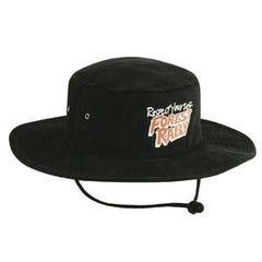 Headwear Stockists Brushed Heavy Cotton Hat  - Black