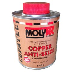 Molytec Coppe Anti-Seize Lubricant Brush Top Can 500g