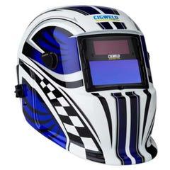 Cigweld WeldSkill Auto-Darkening Helmet - Racer