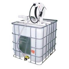 Alemlube Pallecon Oil Kit -w/ Hose Reel & Control Valve