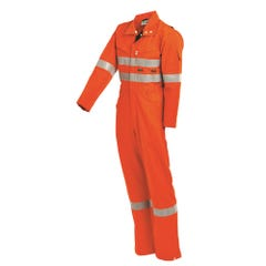 Workit PPE2 Flarex FR Inherent 215gsm Vented Taped Coverall - Orange