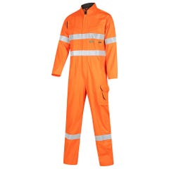 Workit FR PPE1 FLAREX Inherent 190gsm Vented Taped Coverall - Orange