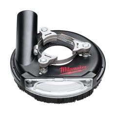"Milwaukee 101mm (4"") - 125mm (5"") Universal Surface Grinding Dust Shroud"