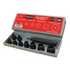 Maun Kit, 10 Piece Metric Wad Punch 5mm - 32mm
